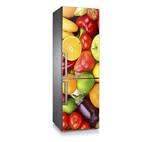 Vinilo para nevera | Stickers Fridge | Pegatina Frigo | Frutas&Hortalizas (185x70)