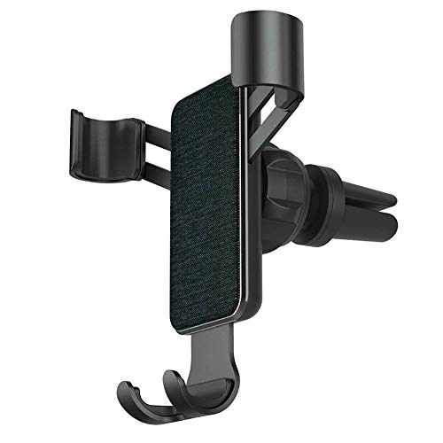 ZHWDD Car Bracket, Fixed Support Snap-Type Stable Safe Mobile Phone Holder, Anti-Slip and Drop-Proof One-Handed Operation Stand, for Car