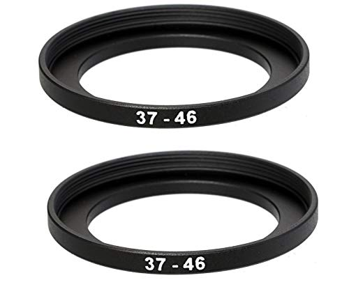Breakthrough Photography 55mm to 82mm Step-Up Lens Adapter Ring for Filters Made of CNC Machined Brass with Matte Black Electroplated Finish