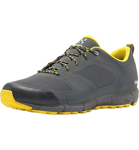 Haglöfs Herren L.i.m Low Proof Eco Walking-Schuh, 4hc-Magnetite/Signal Yellow, 46 EU