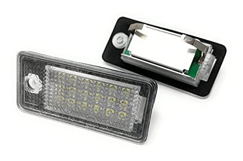 TOP LED iluminación de la matrícula