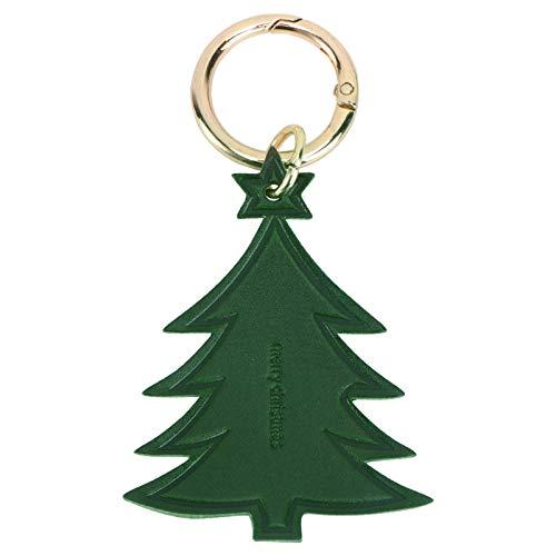PRETYZOOM Llavero de Árbol de Navidad Verde Llavero de Cuero de Dibujos Animados Llavero de Vacaciones Colgante Llavero Creativo Pequeño Regalo para La Fiesta de Navidad Llenos de Bolsas