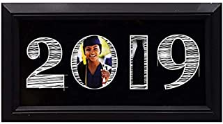 Graduation Class of 2019 Photo Display for 2x3 Photo and Mortarboard Tassel