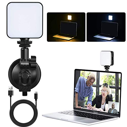 All-Purpose Video Conferencing Light,Laptop Video Conference Light for Remote Working, USB Clip-on Computer Video Lights for Zoom Calls, Broadcasting, Live Streaming On Tablet/iMac/MacBook
