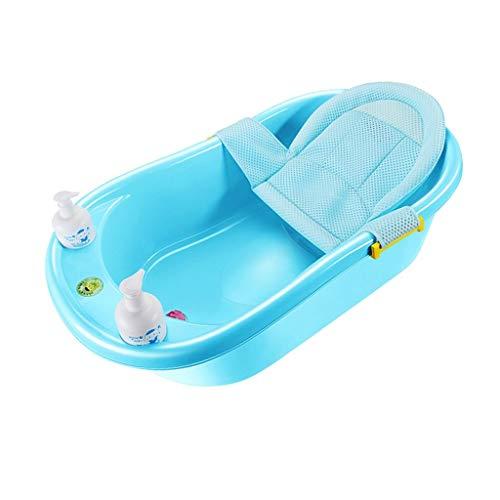 L@LILI Portable antidérapant Peut s'asseoir et Poser des ménages en Plastique Multifonctionnel 0-6 Ans Baignoire bébé Confortable et Durable,a