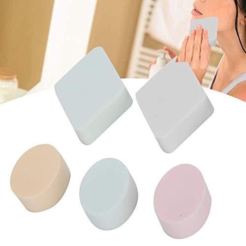 5 pièces de maquillage éponge humide et sec maquillage à double usage maquillage Puff Puff outil Fond de teint crème Maquillage éponge de grande capacité visage Puff éponge douce Fondation Outil de ma