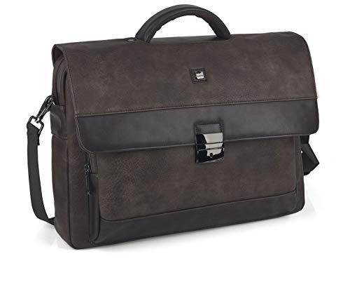 GABOL Koffer mit Kofferklappe, Erwachsene, Unisex, Braun (Braun), Einheitsgröße