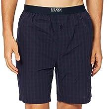 BOSS Urban Shorts Pantaln de Pijama, Dark Purple502, M para Hombre