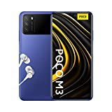 Poco M3 - Smartphone 4+128GB, 6,53' FHD+ Dot Drop Display, Snapdragon 662, 48MP AI Tripla Camera, 6000 mAh, Cool Blue (versione ufficiale, due anni di garanzia)