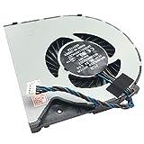 Enfriador de Ventilador (7 cm versión 2) Compatible con Fujitsu LifeBook A514 (A5140M53S5HU), LifeBook A544 (A5440M15B7DE), LifeBook A556 (A5560M850ODE), LifeBook AH544 (AH544M27A2DE)