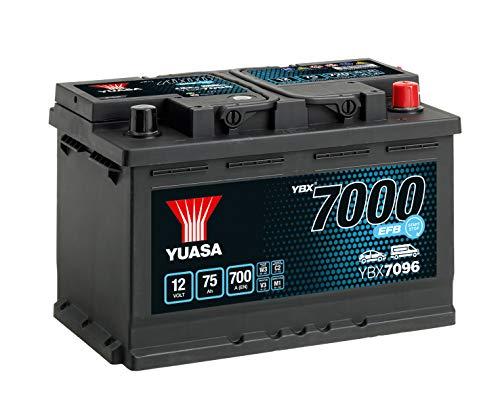 YUASA Ybx7096 EFB Start Stop accu
