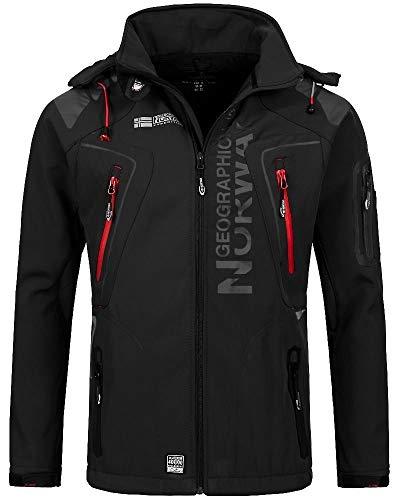 Giacca Giubbotto Uomo Geographical Norway Tangata Men Jacket Men (L, NERO)