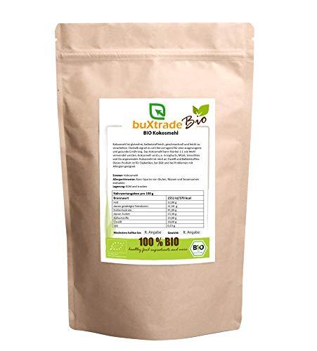 5 kg BIO Kokosmehl teilentölt gemahlen Glutenfrei Cocos Mehl Kokos Backen