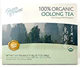 Prince of Peace 100 % Organic Tea, BEST VALUE Family Size, 200 Tea Bags (Organic Oolong Tea)