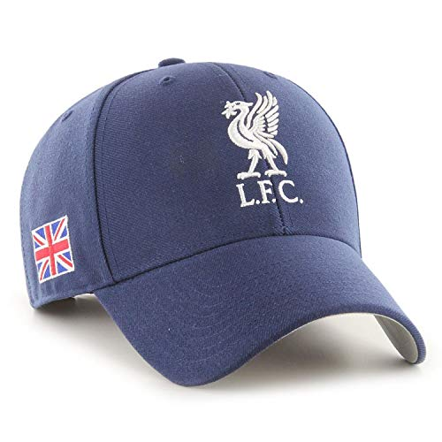 47 Gorra de béisbol unisex de la bandera del Liverpool FC Union,...