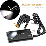 Zgood 5W LED Headlight + Filter Plastic Clip-on Type For Medical Binocular Loupes Black DY-007