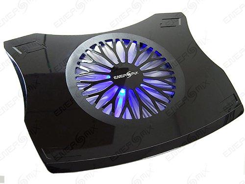 """Notebook Laptop Kühler für 17\"""" - 19\"""" Notebook Laptop (41cm x 33cm) XXL Kühler mit Blau LED ***(Schwarz)***"""