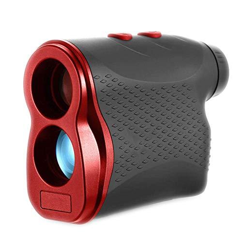 Golf-Entfernungsmesser, 6-Fache Vergrößerung Laser-Entfernungsmesser Mit Klarer Sicht Für Golf/Jagd Mit Flag-Lock-, Nebel-, Entfernungs- Und Geschwindigkeitsmessung,Rot,600 Yards