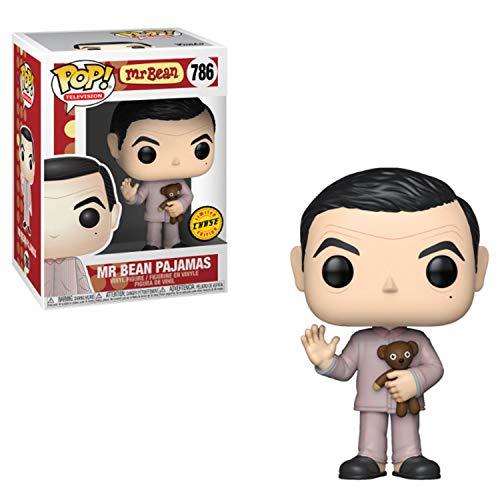 Figura de Vinilo Funko Pop! Chase Mr Bean con Oso de Peluche (40146)