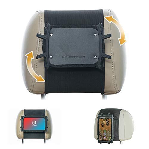 Ninitendo Switch Car Mount TFY Soporte giratorio para reposacabezas de coche para máquina de juego Nintendo Switch