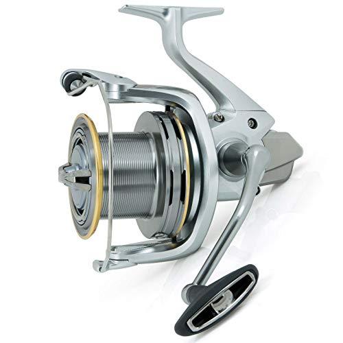 Tamaño: 5500XSC, Gear Ratio: 5.3:1, Peso: 440 gramm, Carrete de Pesca Big Pit Capacidad de Linea (mm/meter): 0.30/390, 0.35/290, 0.40/210 Capacidad de Linea (lb/yds): 10/425, 12/315, 16/230 Recuperación por vuelta de manivela: 105 centimeter Freno Ma...