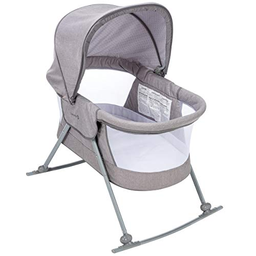 Safety 1st Nap and Go Rocking Bassinet, Star Gazer