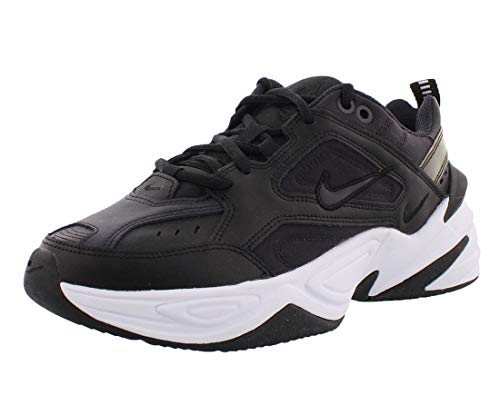 Nike W M2K TEKNO, Zapatillas de Running para Asfalto Mujer, Multicolor (Black/Oil Grey/White 002), 37.5 EU