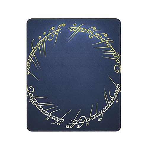 Seigneur des Anneaux Bord de Verrouillage Anti-dérapant Tapis de Souris de Bureau Ordinateur Portable Accessoires Tapis de Souris Tapis de Bureau