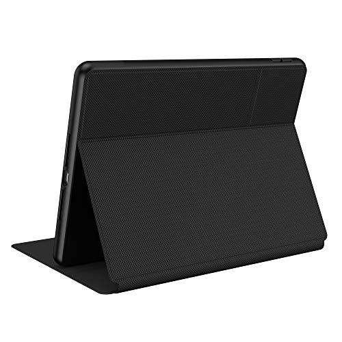 Speck Products Presidio Pro Folio iPad (2019/2020) Funda y Soporte, Color Negro y Negro