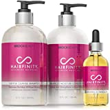 Hairfinity Botanical Oil, Shampoo and Conditioner -...