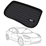 SEG Direct Front Trunk Mat Customized for Tesla Model 3, Full-Spread Package No Creases Cargo Mat Cargo Liner, Odorless Scratch-Resistant Sturdy Heavy-Duty Black Eco-Friendly Thermoplastic Rubber