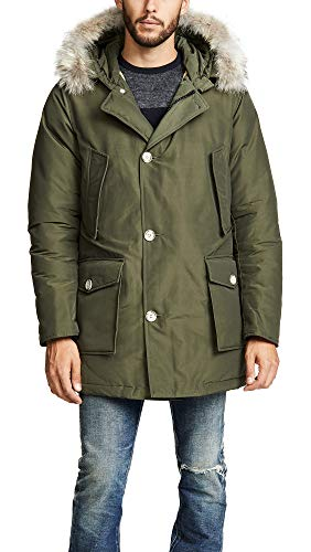 Woolrich giacca uomo Artic Parka DF verde scuro XL