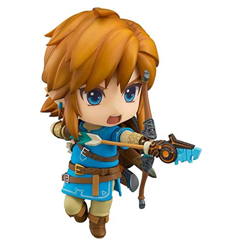 Potato smile Leyenda de Zelda: Breath of The Wild Nendoroid Ver.Enlace Figura Pop en Caja Estatua 3.9
