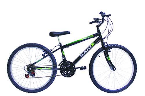 Bicicleta Aro 24 Masculina 18 Marchas Said-x (Azul)