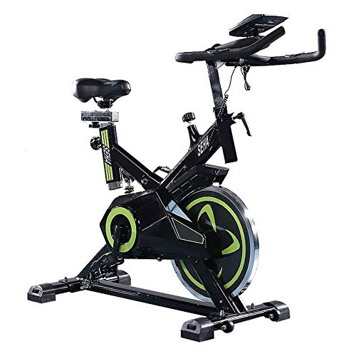 ZAIHW Indoor Cycling Bike, Riementrieb Indoor Heimtrainer, stationäres Fahrrad LCD-Anzeige for inländisches Cardio Workout Radtraining