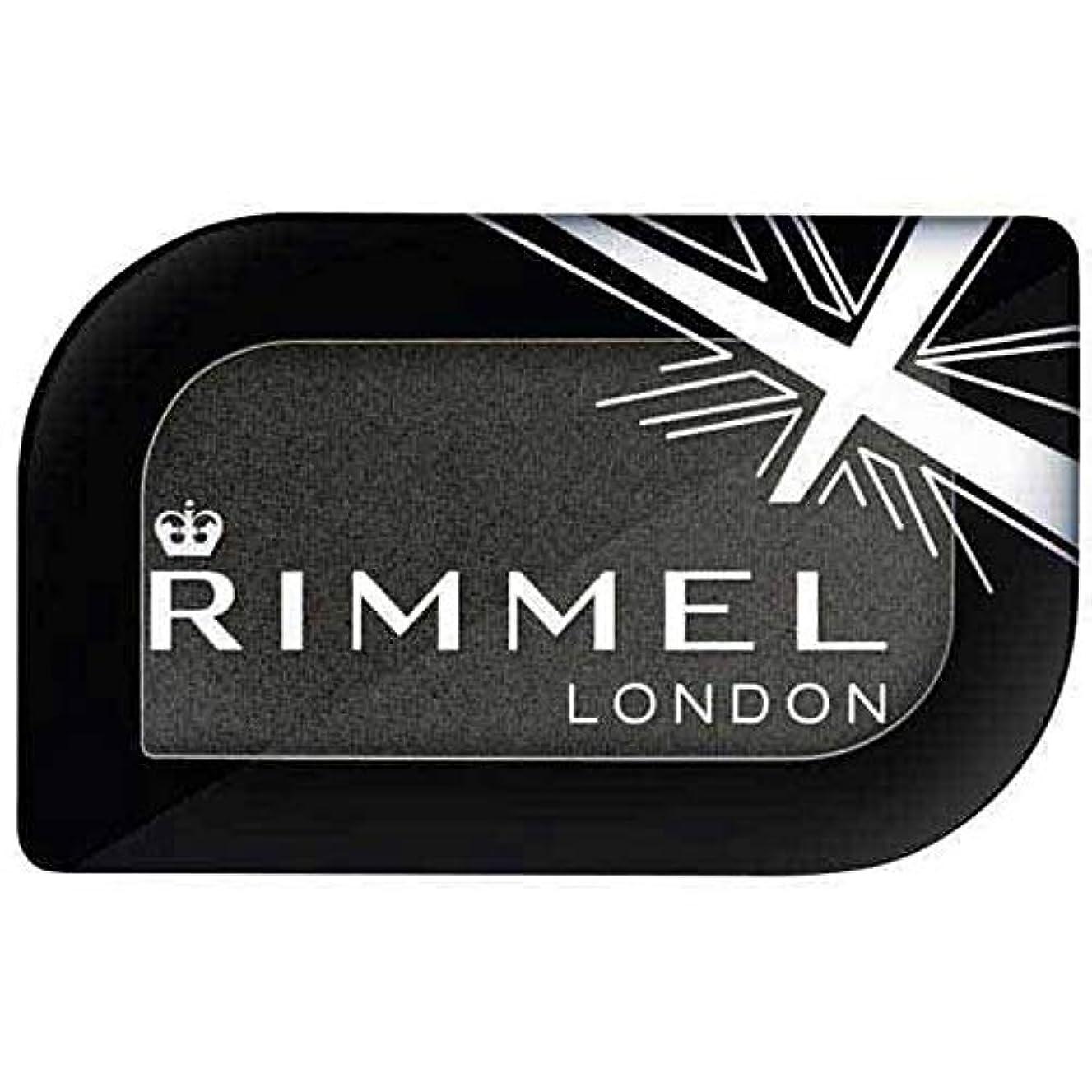 レルムに対応好き[Rimmel ] リンメルロンドンGlam'Eyesモノアイシャドウブラックフェンダー5.2グラム - Rimmel London Glam'eyes Mono Eyeshadow Black Fender 5.2g [並行輸入品]