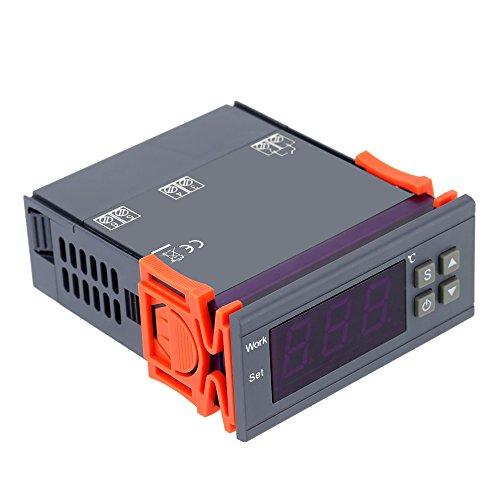 KKmoon 90 ~ 250V 10A Digitaler Temperaturregler Thermoelement -50 ~ 110 Grad Celsius Mit Sensor Für Gefrierschrank, Wassertanks, Kühlschrank, Industrie-Kühler,