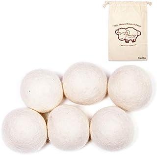 comprar comparacion OrgaWise bola lavadora Bolas de Lana Secador de Lana de Bolas de Lana Bolas Reutilizables