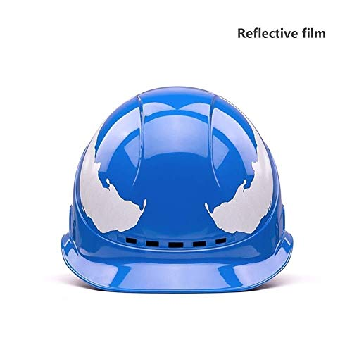 PLOUT Schutzhelm Industrie-Schutzhelm Arbeitshelm HDPE Shell Technik Elektriker Technik Schutz Bump Cap for Mann Frauen Worker (Color : B)