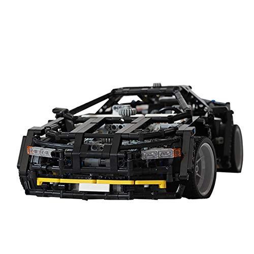 WDLY 1600 PCS Bloque De Construcción Compatible con Lego 8880 Supercar Mejore La Edición De Homenaje, Puzzle Técnica Técnica Super Racing RC Kit, Juguete De Ladrillos para Adulto O Niño