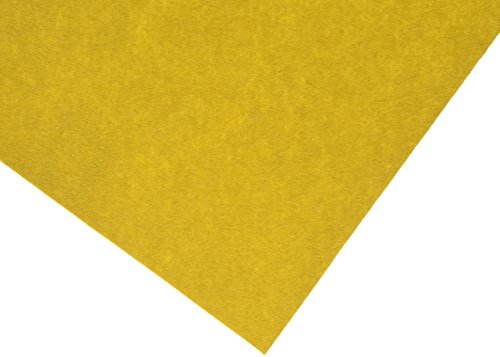 hollandfelt 12P 100 procent wolvilt, mosterd, 20 x 30 cm, 6 stuks