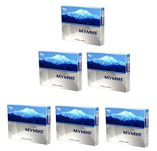 MUMIJO- Original Altai Sibirien - Мумиё (MINERALERDE,Mumie, Mumijo), 360 Tabletten