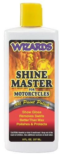 Wizards 22033 Shine Master for Motorcycles - 8 oz.