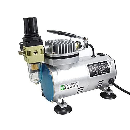 DP Dynamic Power 1/5HP Mini/Lightweight/Portable Air Compressor Pump (Delivers High Air Volume 0.7 CFM)