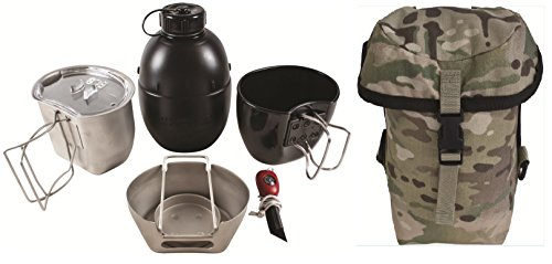 BCB Adventure Cooking Unit The Crusader System MKI-Silver CW Multicam Pouch, One size, CN004M
