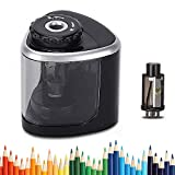 Best Electric Pencil Sharpeners - LOBKIN Electric Pencil Sharpener Battery Operated Automatic Pencil Review