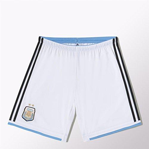 adidas Fußballshorts Argentinien Short Home - Cinturón de Flag fútbol, Color Blanco, Talla XXL