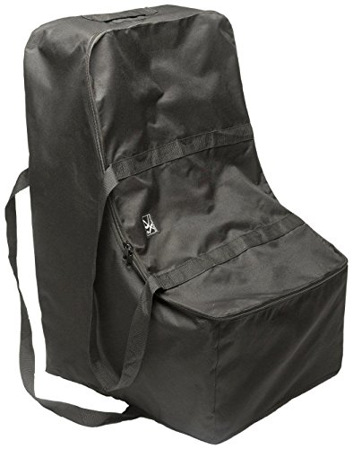 J.L. Childress Universal Side-Carry Car Seat Travel Bag, Black