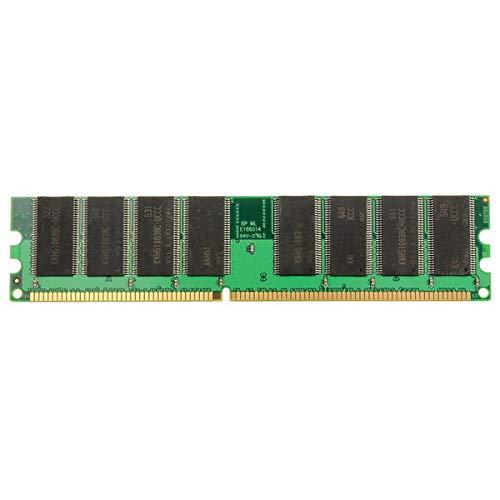 1GB DDR-266 PC-2100 184PINS Non-ECC Desktop Memory RAM (Verde) Memoria de Escritorio...