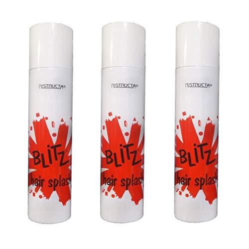 3X Lacca Blitz Hair Splash Ecologica - Ristructa - 330 ml
